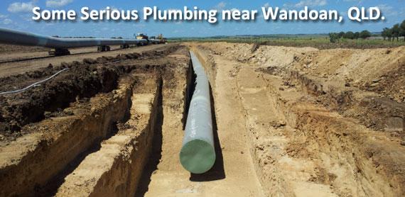 Gas Pipeline, Wandoan, QLD