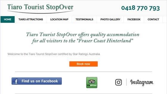 Tiaro Tourist StopOver - Quality Accommodation at Tiaro