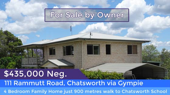 111 Rammutt Road, Chatstworth - for sale by owner.