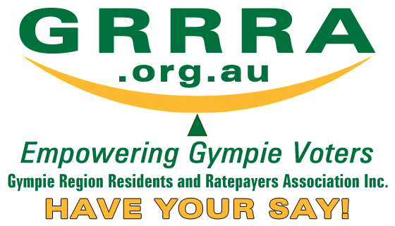 GRRRA Inc. Logo - New website for the Gympie Region Residents and Ratepayers Association Inc.